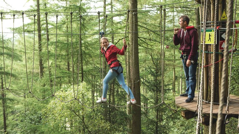 Go Ape Trent Park Guide to Theme Parks and Funfairs in and Near London Clink Hostels