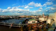 View from London Eye - edit