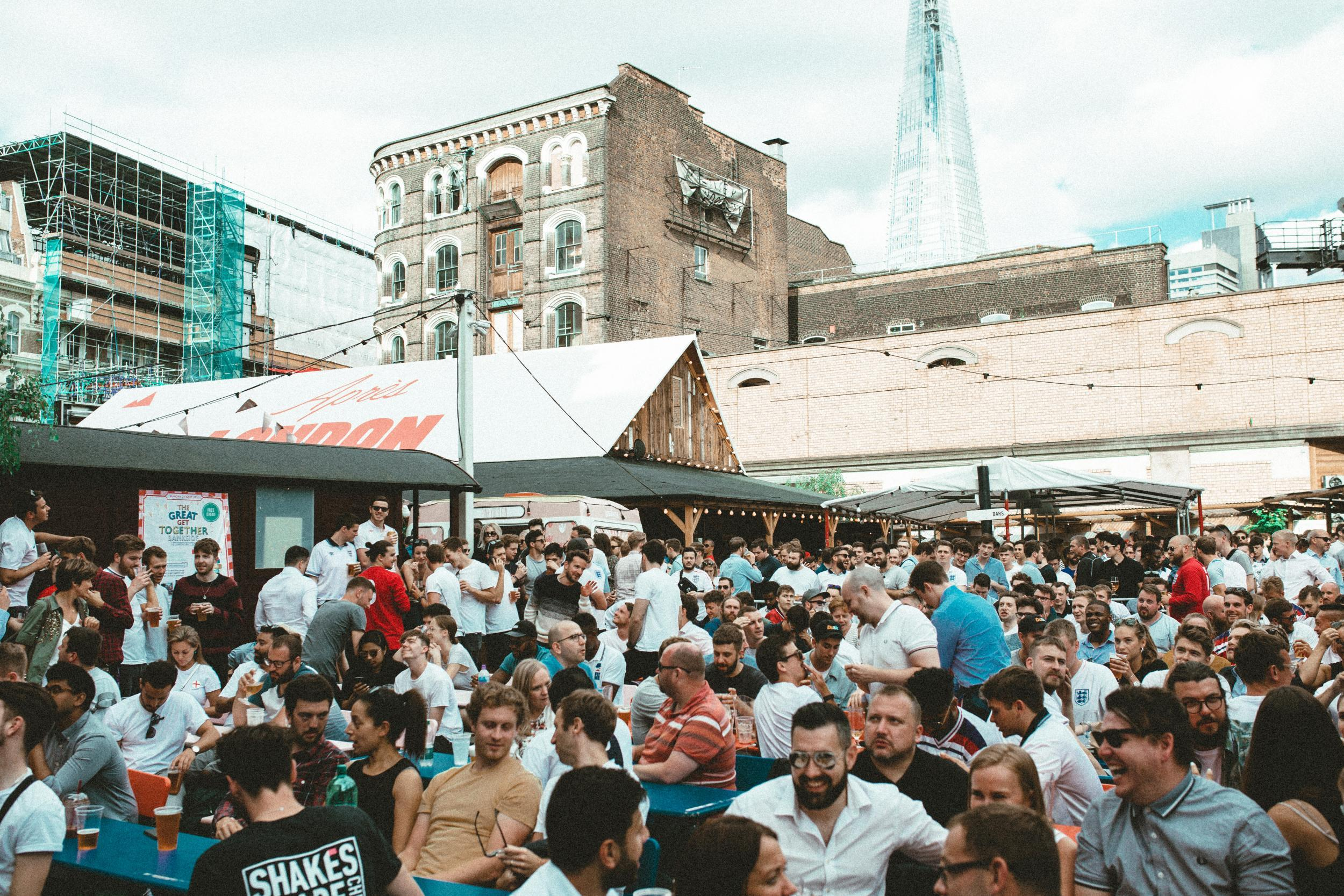 Rugby World Cup at Flat Iron Square | Clink Hostels