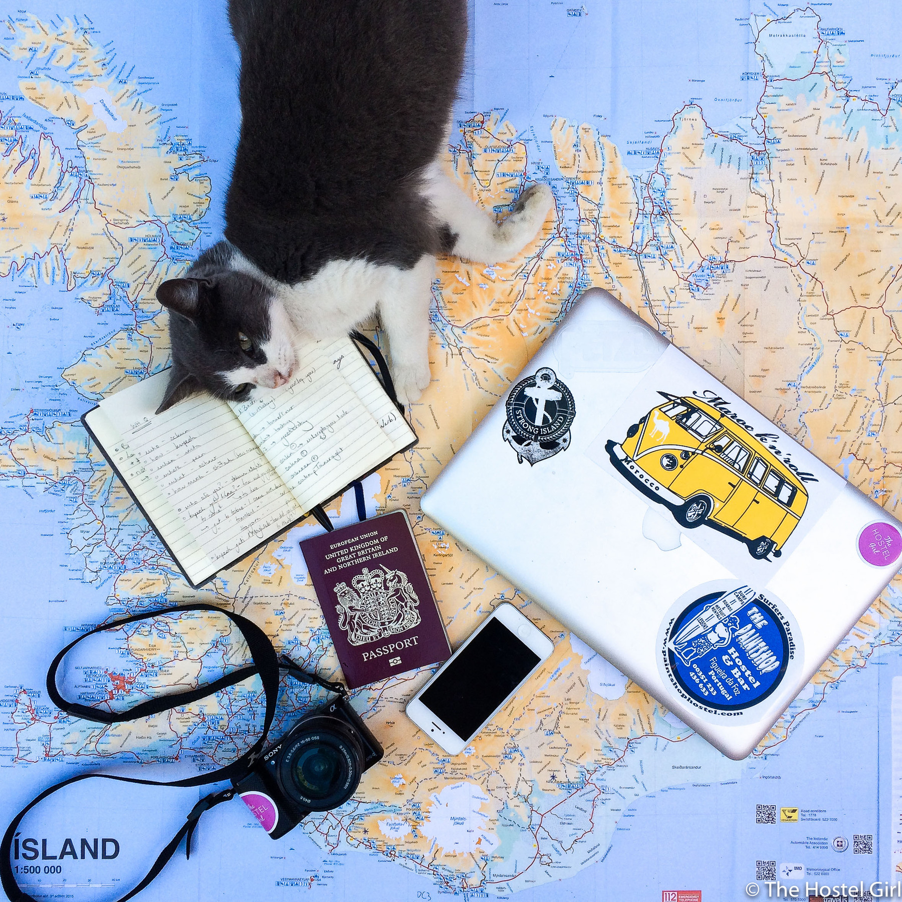 What's in your backpack competition - The Hostel Girl