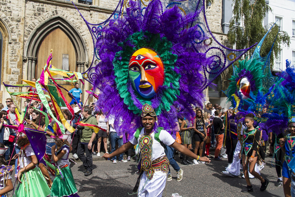Notting Hill Carnival August Bank Holiday Weekend
