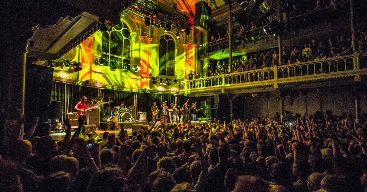 Live Music at Paradiso in Amsterdam