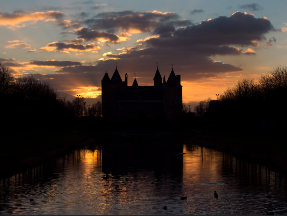 Castle Christmas Fair in Heemskerk Amsterdam