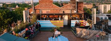 Clink Hostels Bussey Rooftop Best Rooftop Bars London