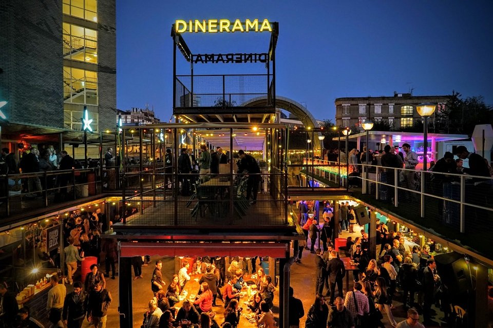 Clink Hostels things to do as a group in London Dinerama