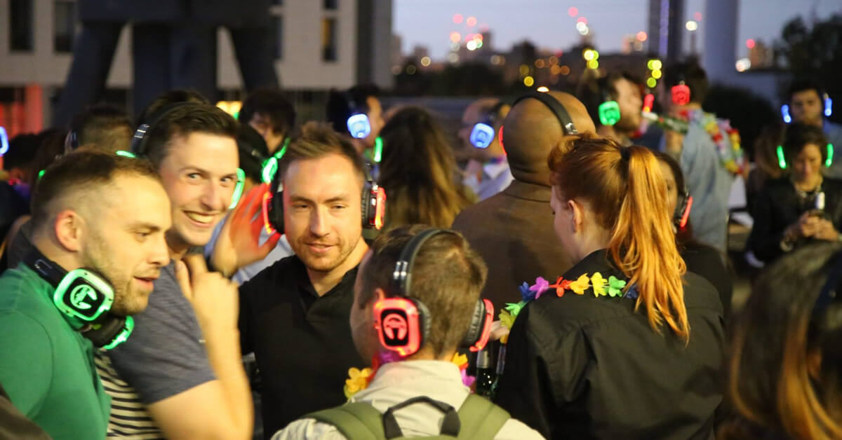 Clink Hostels Silent Disco Company