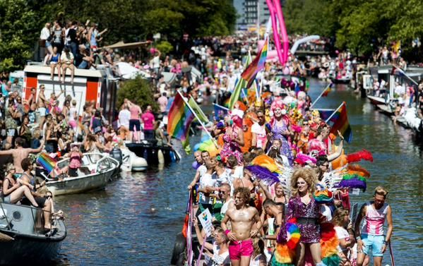 Pride Amsterdam Clink Hostels Canal Parade