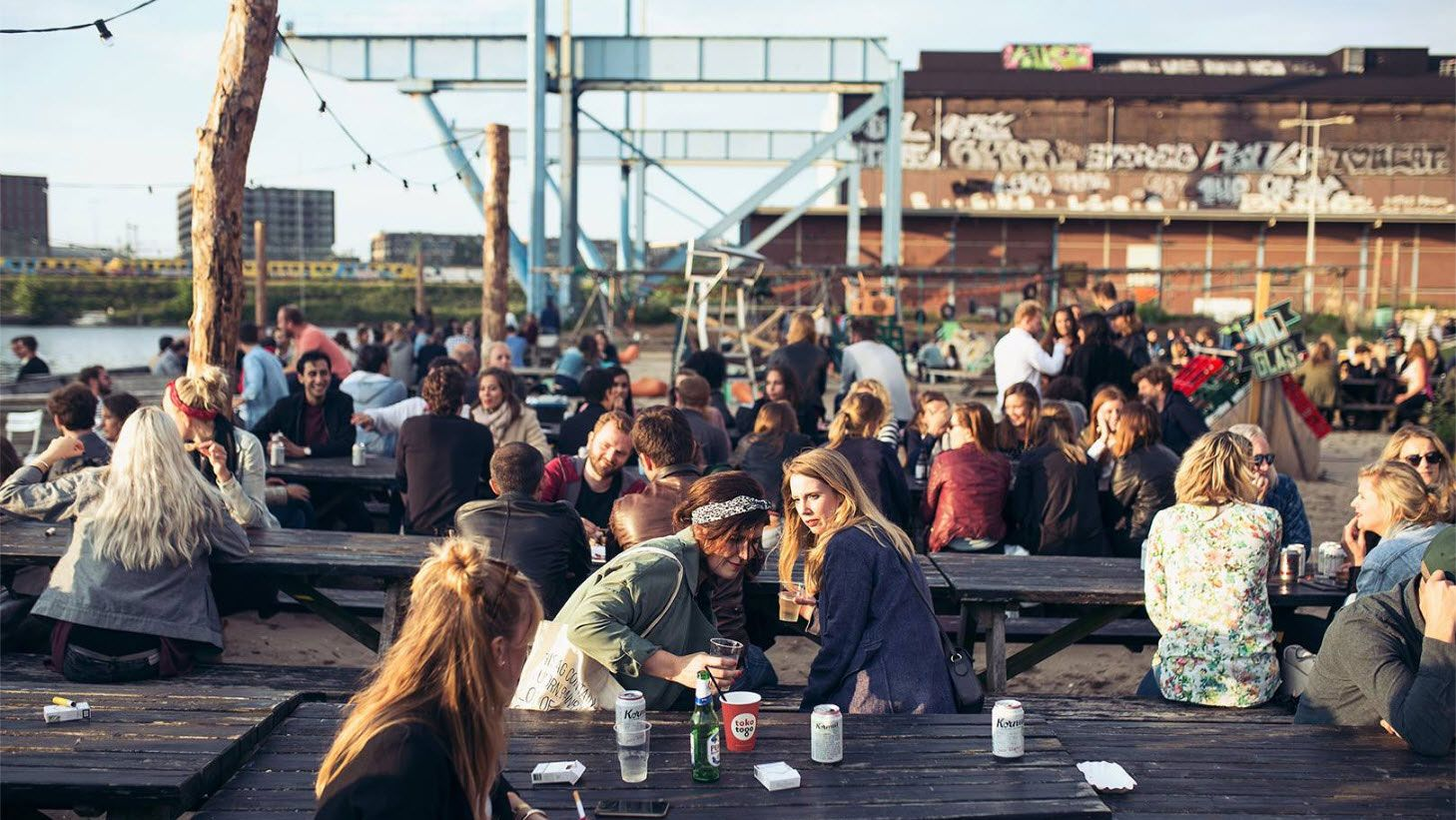 Clink Hostels Best Bars in Amsterdam Roest