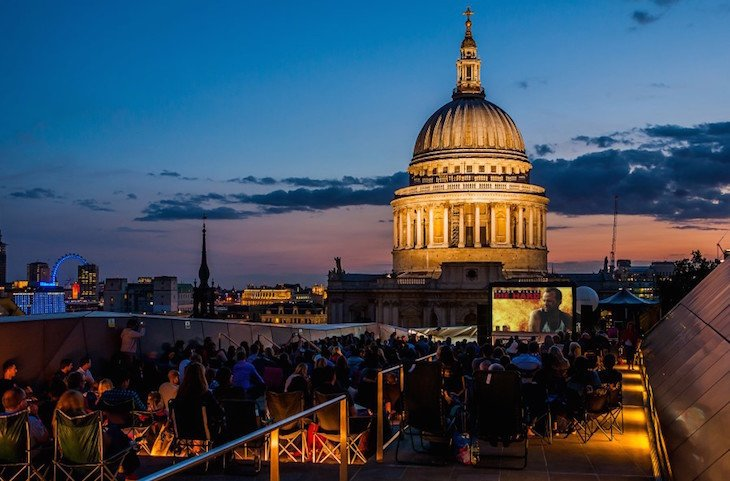 Clink Hostels Outdoor Cinema August Bank Holiday