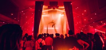 Circus Performer at a Club