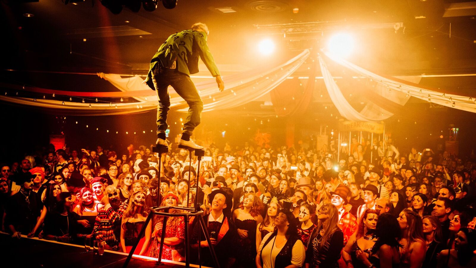 Dark Circus Party Halloween Special | Clink Hostels