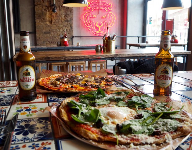 Pizza Union Cheap Places to eat King's Cross