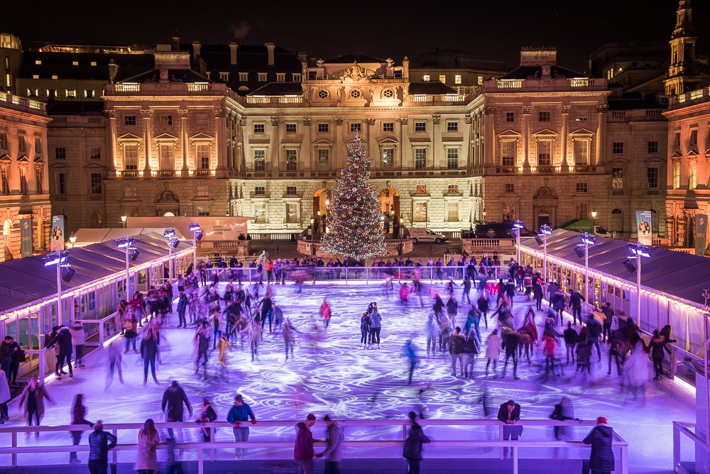 Ice skating in London How to Spend Christmas in London Clink Hostles