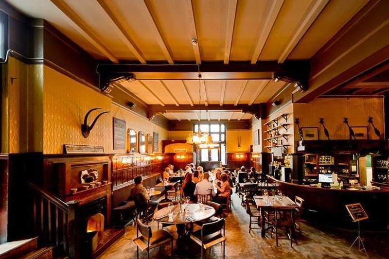 The Antelope cosy bars in London