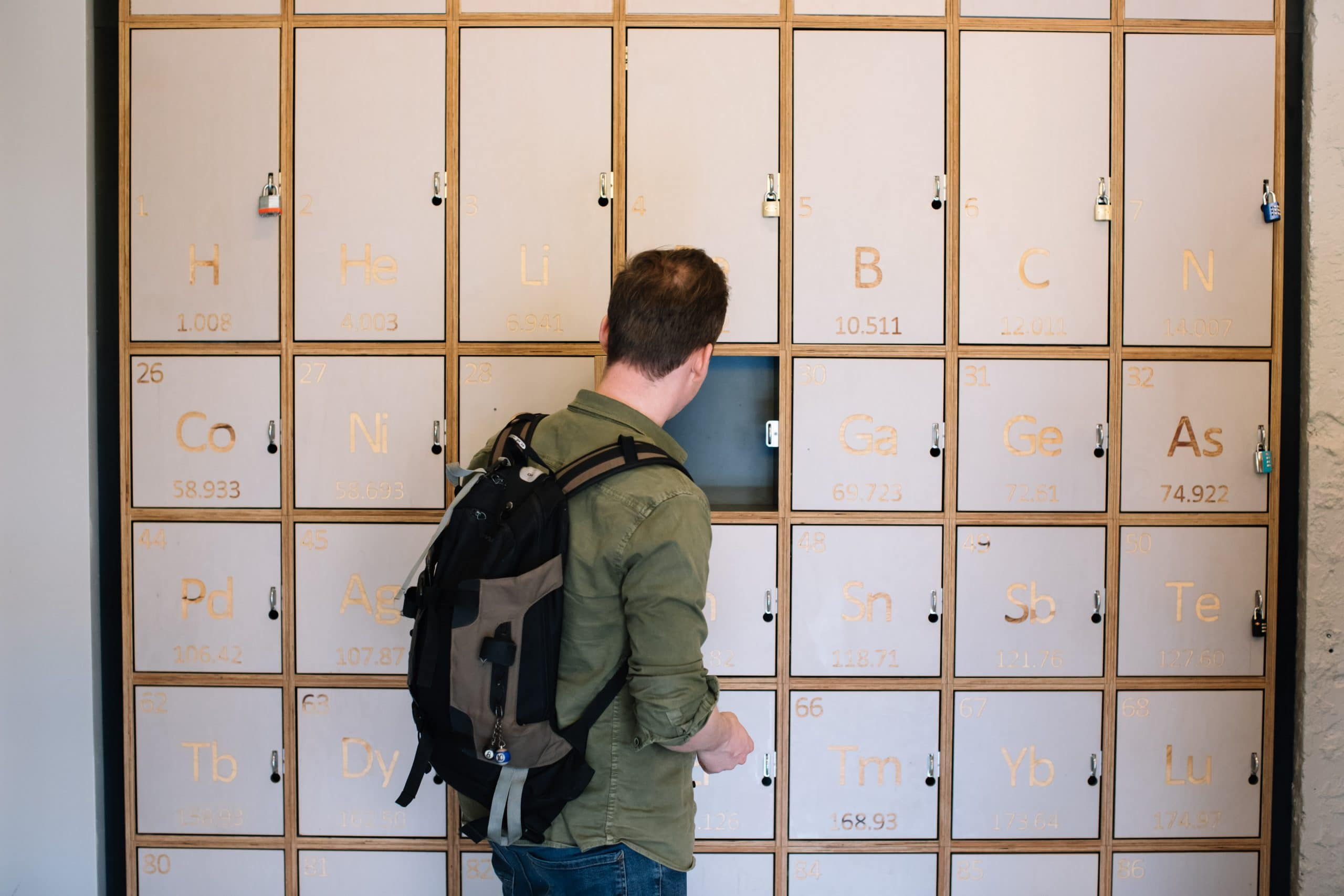 Clink Hostels Lockers | How to make the most of Solo Travel | Clink Hostels