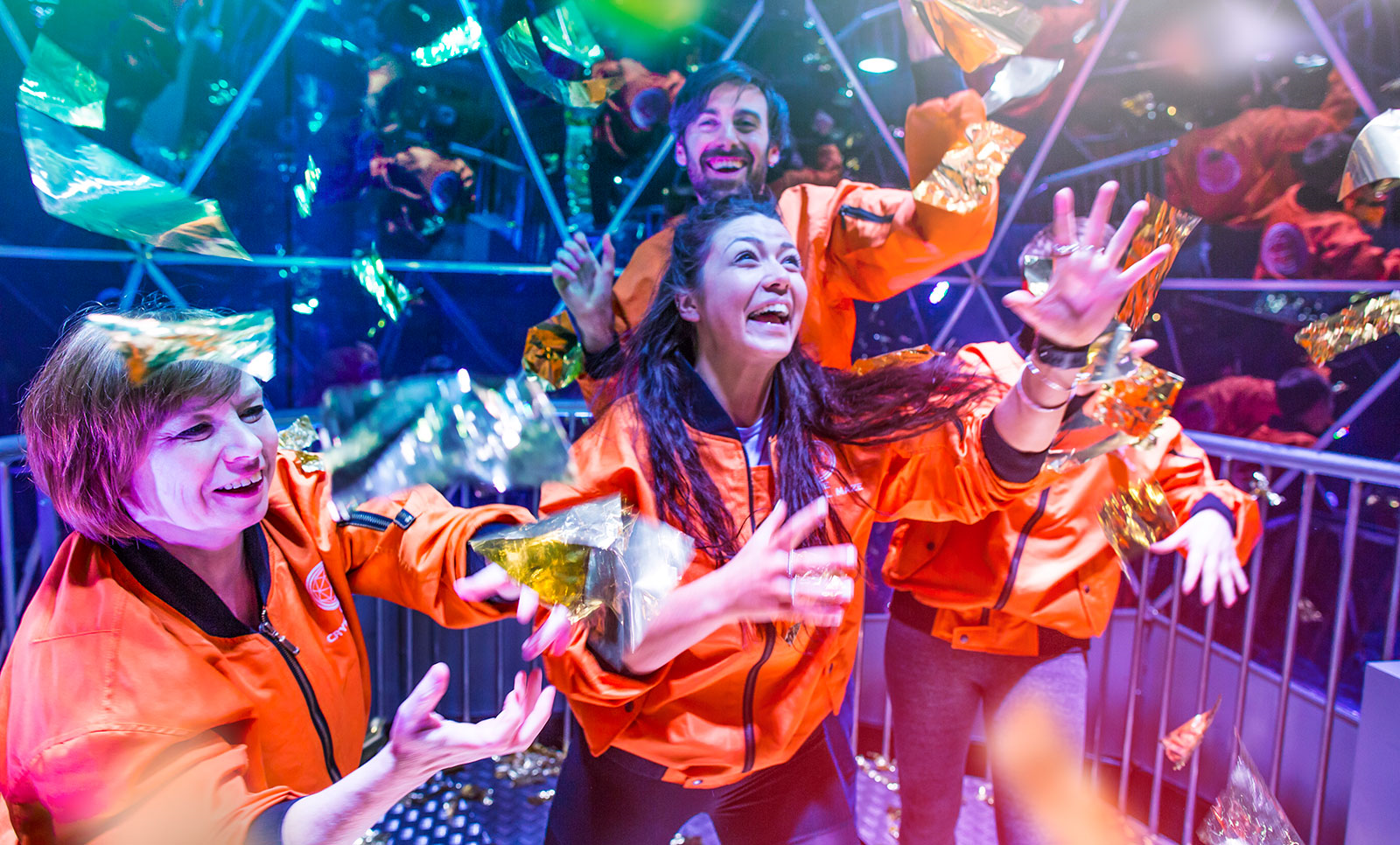 The Crystal Maze - Halloween Edition   Best Places For Halloween in London   Clink Hostels