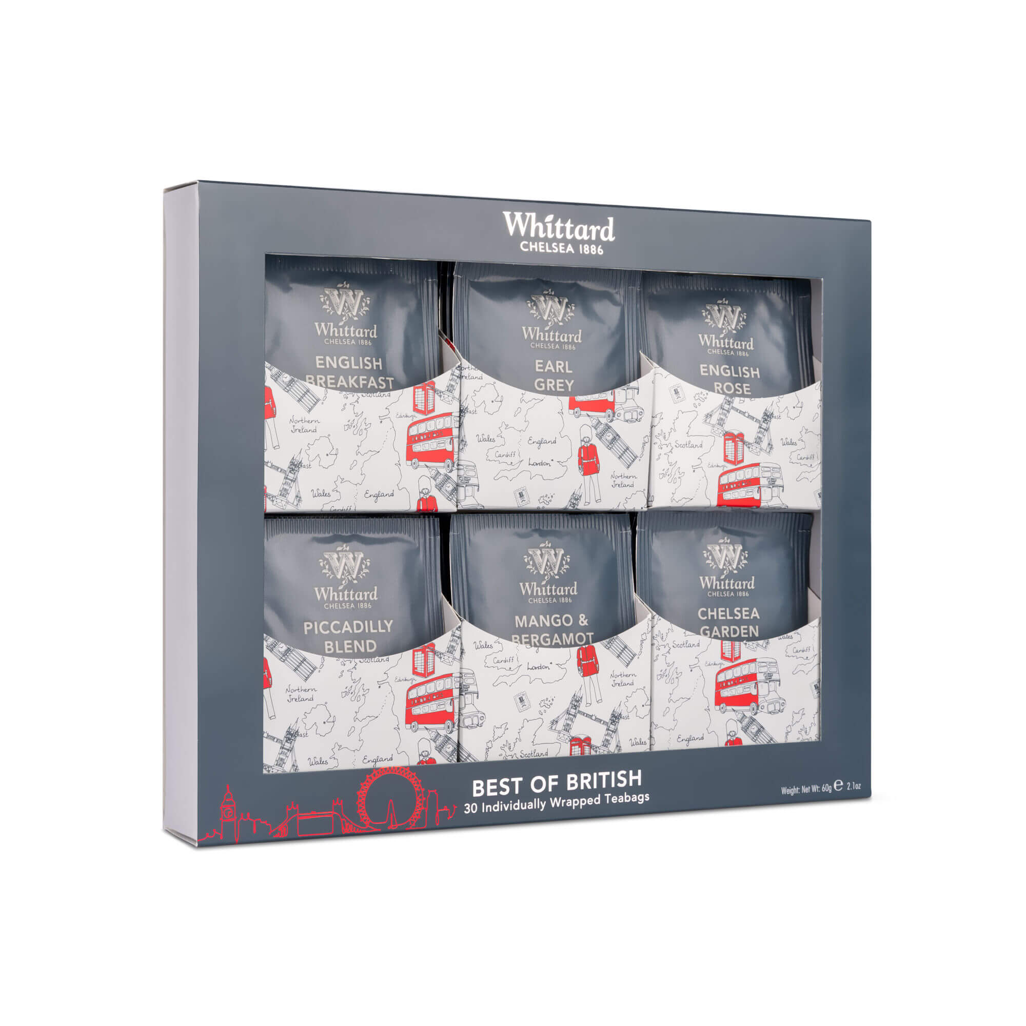 Best of British Tea gift set gift from London
