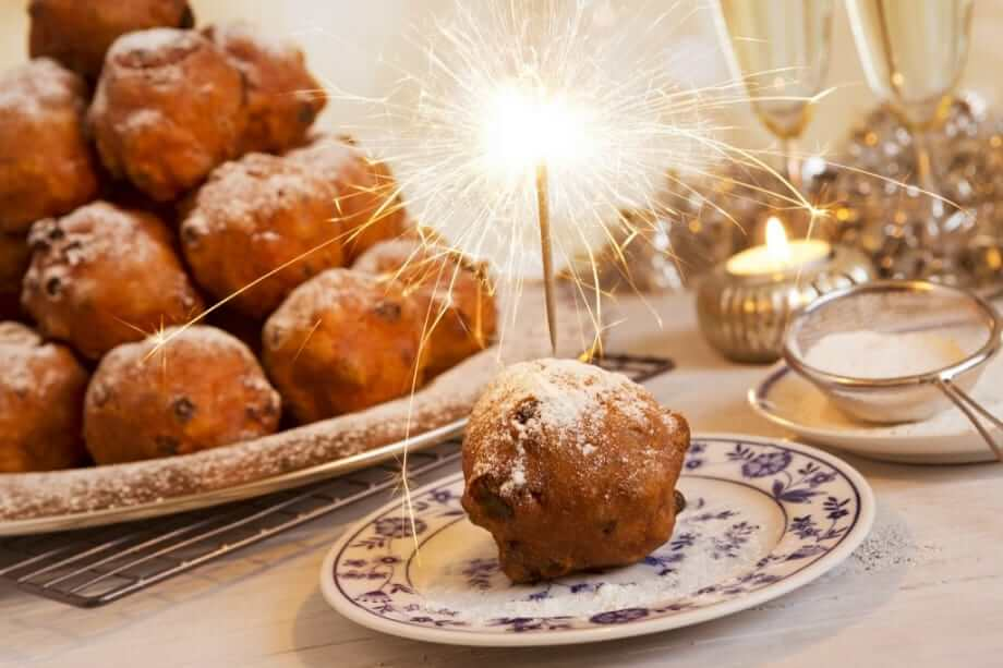 Oliebollen and Champagne New Year's Eve in Amsterdam