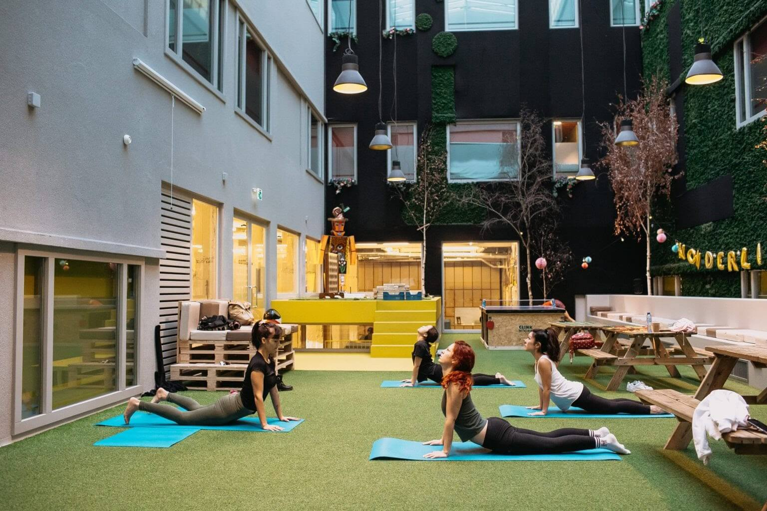 Amsterdam Yoga - Things To Do Alone in Amsterdam - Clink Hostels