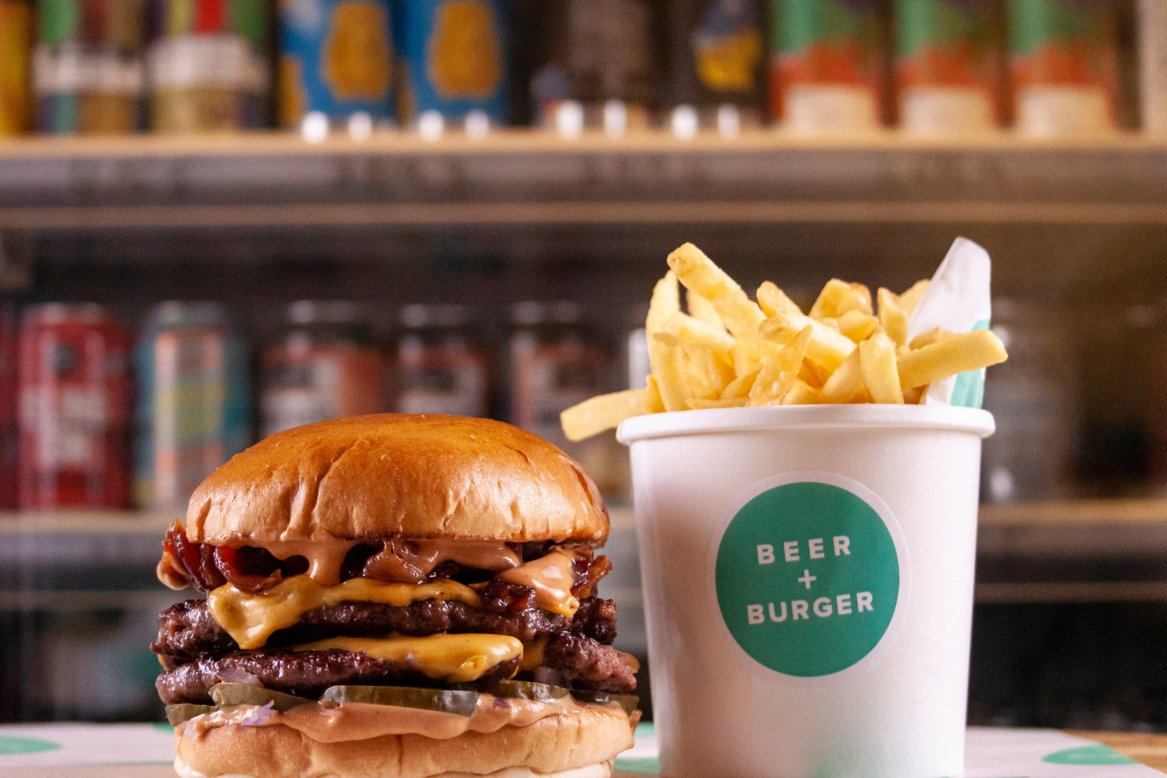 Beer & Burger London | Where to eat alone in London | Clink Hostels