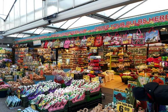Flower Market Amsterdam | Top things to do in Amsterdam this Spring | Clink Hostels