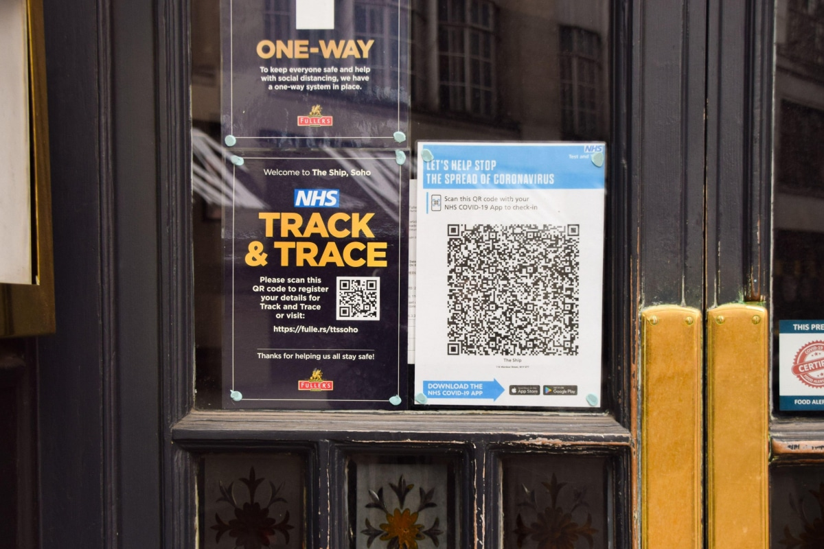 NHS Track & Trace | Covid App | London Reopening