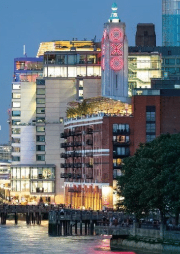 OXO Tower   London Staycation Ideas On A Budget   Clink Hostels
